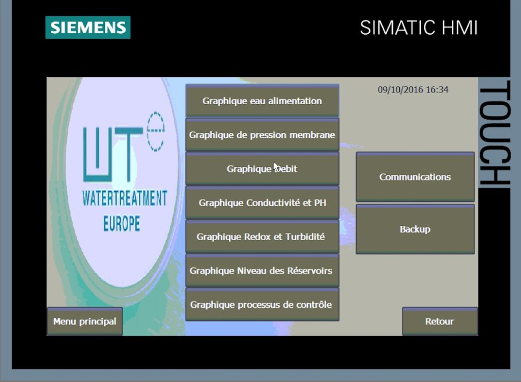 PLC SCREEN CAPTURE (FRENCH )