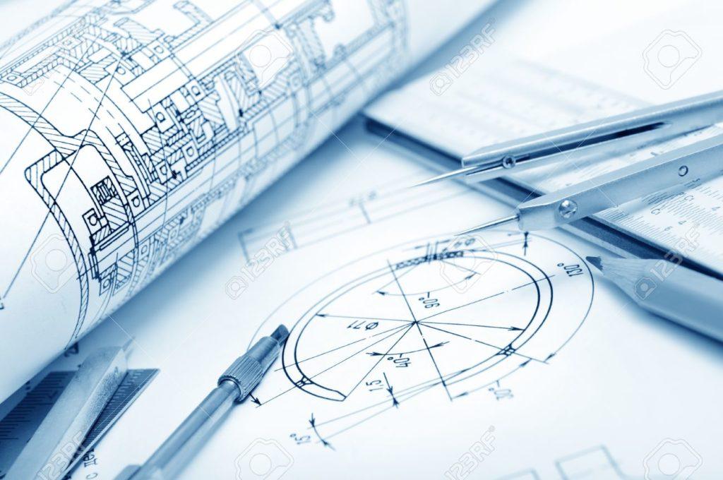 11985894-détail-le-dessin-industriel-et-de-plusieurs-outils-de-dessin